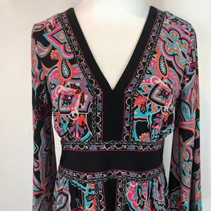 INC Dress in Pink and Black Size Medium